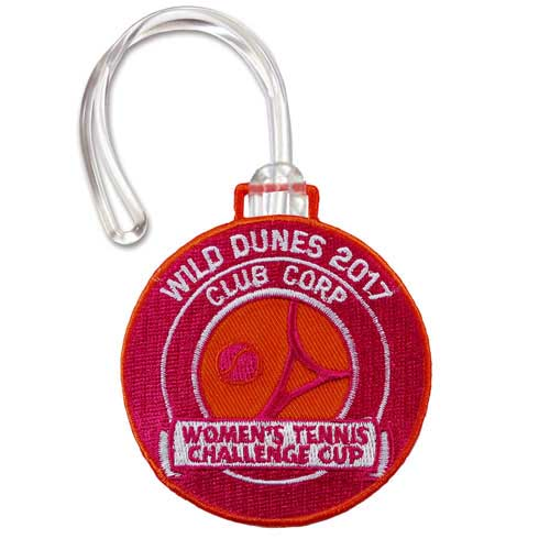 AKBT-1 - Embroidered 2 Sided Bag Tag