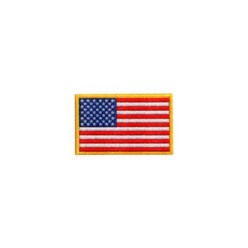 "DAF-3 - USA - American Flag DigiPrint Patch  – 1 1/4"" x 3/4"""