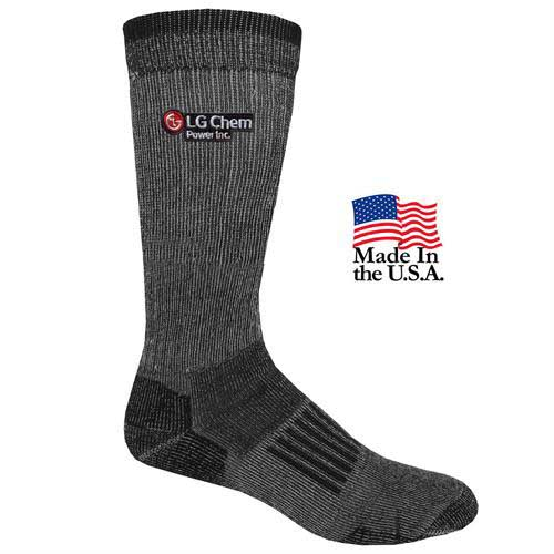 FP-9992 - Men's Fashion Plus Everyday Crew Socks