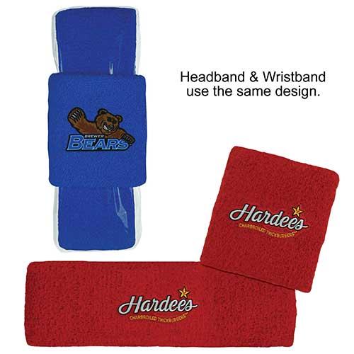 HB-WB-Combo - Headband & Wristband Combo Set