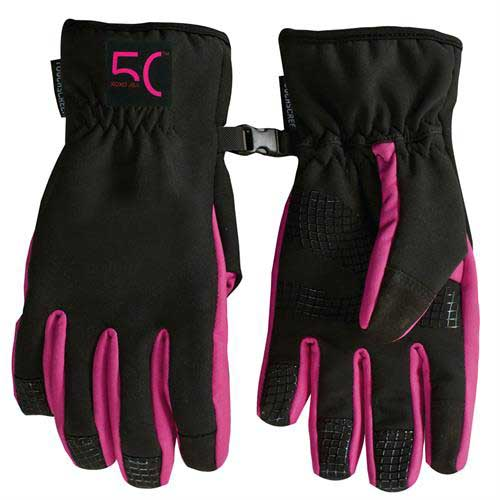 HT-400 - Winter Lined Text Gloves
