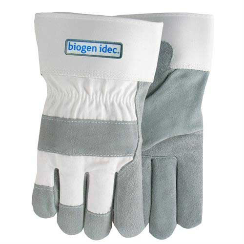 LP-800 - White Suede Cowhide Leather Gloves