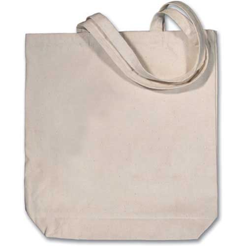 LT-201 - Large Canvas Tote Bag - Blank