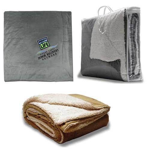 OSHP-200 - Oversized Micro Mink Sherpa Blanket