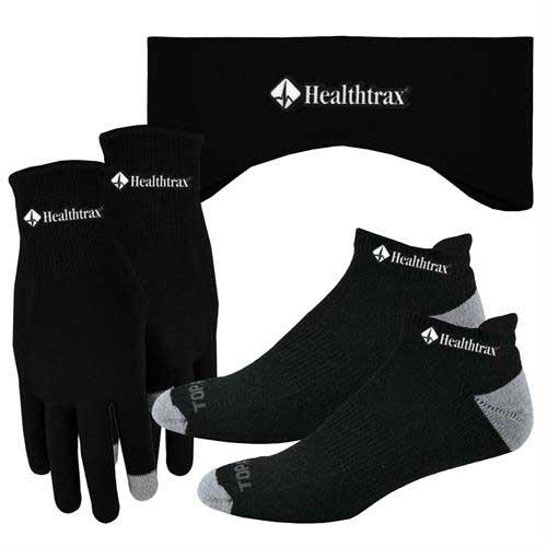 RTGL-EB-998-Combo - Performance Runners Text Gloves-Earband-Socks Combo