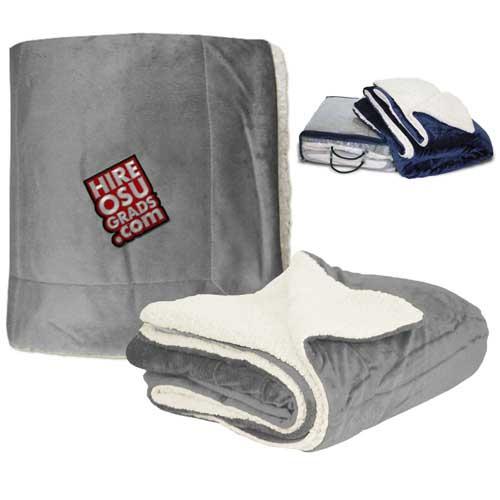 SHP-100 - Micro Mink Sherpa Blanket