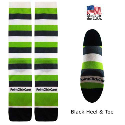SOX-IDS100 - Full Color Couleurs Dye Sub Dress Socks