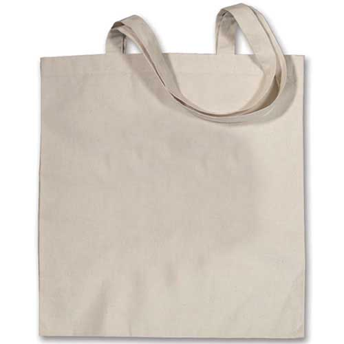 ST-101 - Small Canvas Tote Bag - Blank