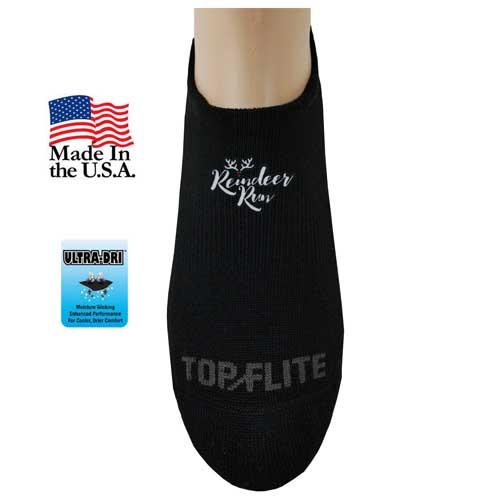 TF-355 - Top Flite Seamless Toe No Show Socks