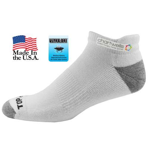TF-998 - Top Flite Pull Tab Ultra-Dri Low Cut Socks