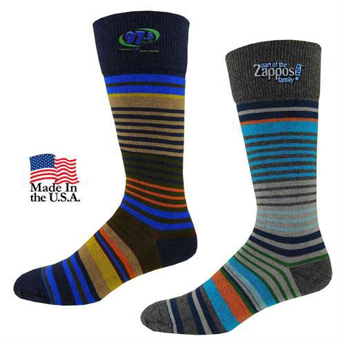 TF-705 - Men's Fashion Striped Dress Socks