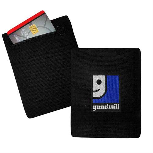 WW-RFID - Wristband Wallet with RFID Blocking Material