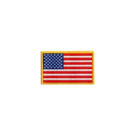 "1 1/4"" x 3/4"" DigiPrint American Flag Patch"