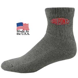 Fashion Plus Non Binding Relaxed Fit Quarter Socks