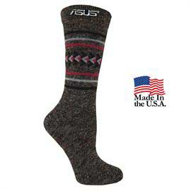 Women's Fashion Plus Aztec Crew Socks