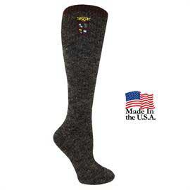 Women's Fashion Plus Fleck Marl Knee High Socks