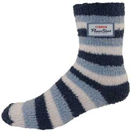 Overseas Custom Striped Fuzzy Feet