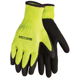 Hi-Vis Palm Dipped Gloves