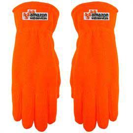 Hi-Vis Fleece Gloves