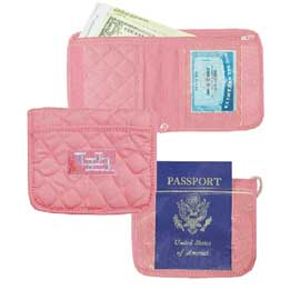 Quilted Identification Holder