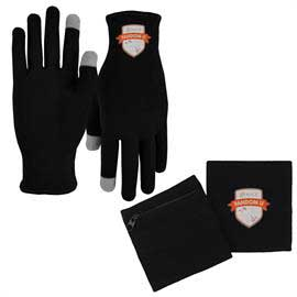 Performance Runners Text Gloves and 3 in 1 Band Combo