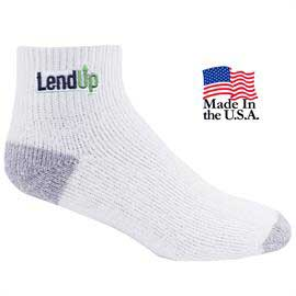 Medium Weight Cotton Ankle Athletic Pro Socks