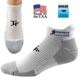 Top Flite Pull Tab Cushion Socks