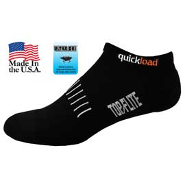 Top Flite Men's No Show Cushion Socks