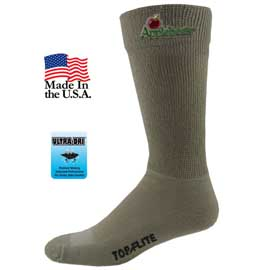 Top Flite Non Binding Ultra-Dri Crew Socks