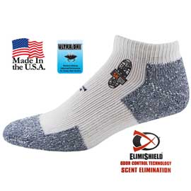 Top Flite Odor Control Cushion Socks