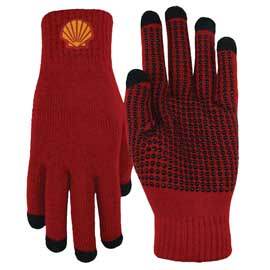5 Finger Text Gloves